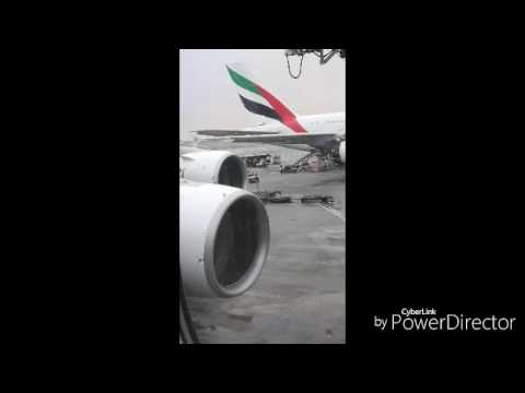 Emirates Airbus A380  inaugural flight to Casablanca Morocco 27mar2017