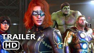PS5 - Marvel's Avengers 4K Trailer