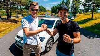 VW E-GOLF Duell   Abonnent gegen Daniel!   Daniel Abt
