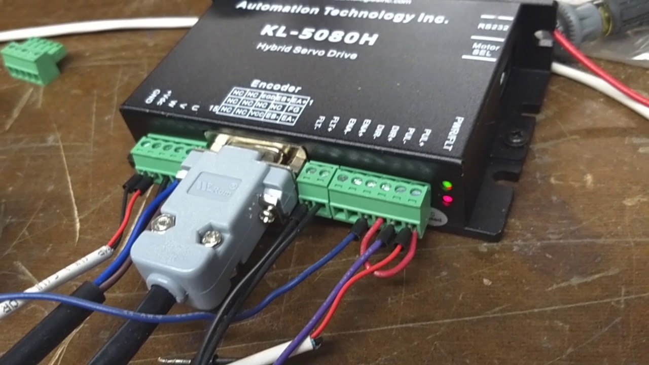 centroid acorn cnc basics - wiring a kl-5080h closed loop stepper from  automation technologies