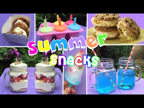 diy-snacks-pour-l'été-/-summer-treats┃reva-ytb