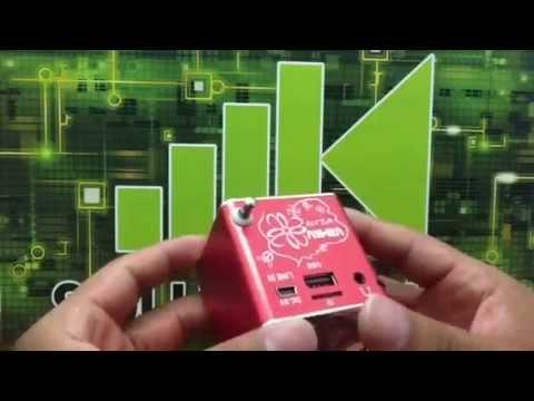 BOCINA PORTATIL RECARGABLE FM MP3 USB MICROSD AUX WS378