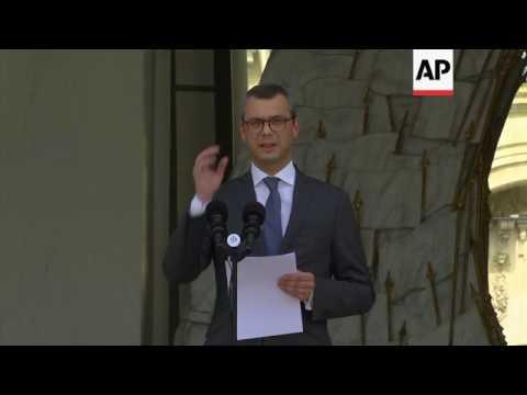 Macron announces French cabinet picks