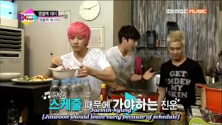eng sub mblaq seungho yang chef s cooking all the k pop