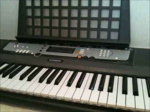 Beginners Step by Step Tutorial of Scarborough Fair On Yamaha EZ-200 Keyboard [Right Hand] [Part 1]