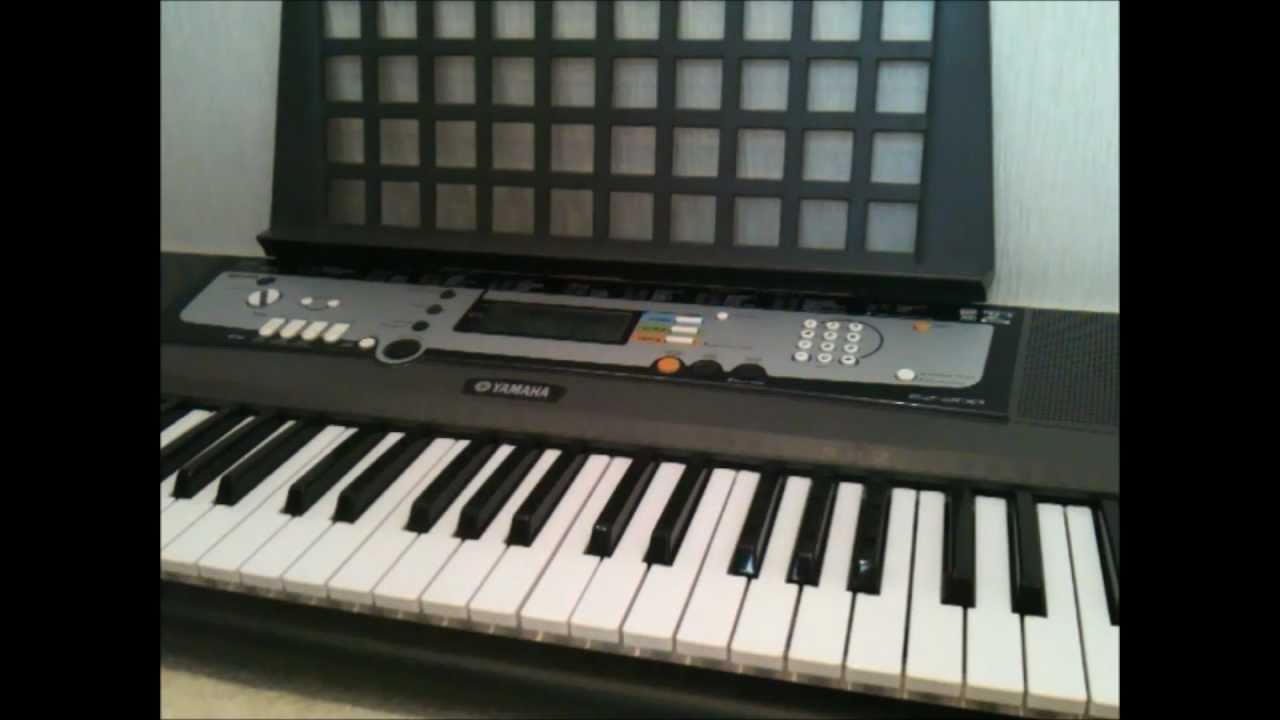 how to play scarborough fair on keyboard