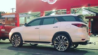 Toyota Fortuner modified || Big alloy wheels || Fortuner