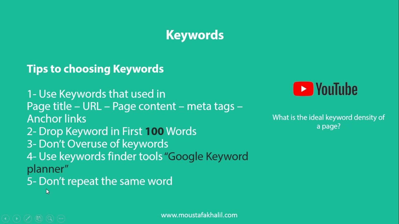 Meta description tag, Keywords , Page Heading #3 [ SEO Arabic Course – كورس  السيو بالعربي ]