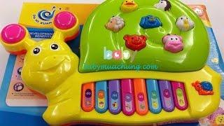 Đồ Chơi Trẻ Em - Chị Ong Vàng Mở Hộp Bộ Đồ Chơi Đàn Nhạc Ốc Sên
