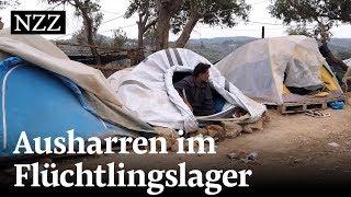 Lesbos: Ausharren im überfüllten Flüchtlingslager