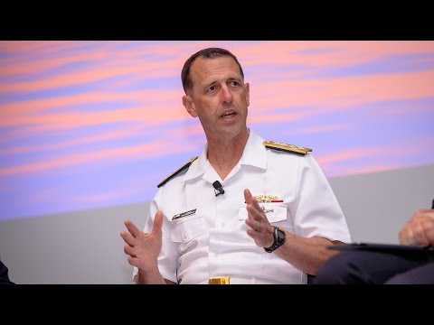 #CNAS2016: Discussion on Asia-Pacific Security with CNO Admiral John Richardson