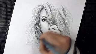 pencil drawings easy beginners drawing step draw portrait paintingvalley