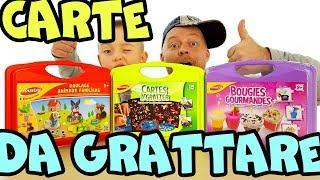 FANTASTICI CARTE DA GRATTARE DA Joustra Giochi per bambini, impariamo colori