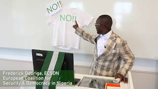 President Buhari is corrupt; we have clear evidence. EFCC must go after him, says Frederick Odorige
