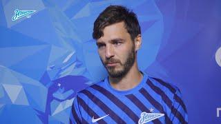 Александр Ерохин — о награде лучшему игроку, забитом мяче и победе «Зенита»