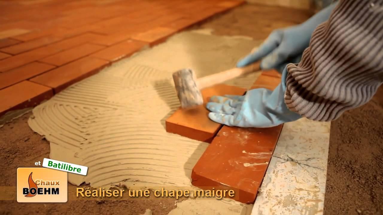 Réalisation d'une chape maigre à Plobsheim - YouTube