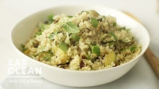 Gluten-free Zucchini And Quinoa Salad - Eat Clean With Shira Bocar