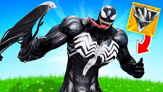 VENOM in FORTNITE! (New Mythic Weapon)