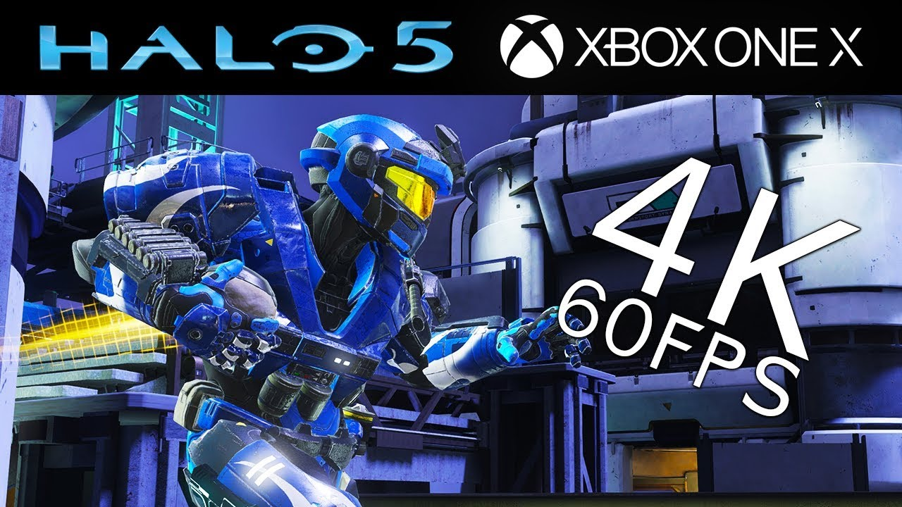 Halo 5: Guardians 4K 60FPS Multiplayer Gameplay on Xbox One X – Oddball