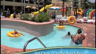 Sea Crest Oceanfront Resort in Myrtle Beach South Carolina