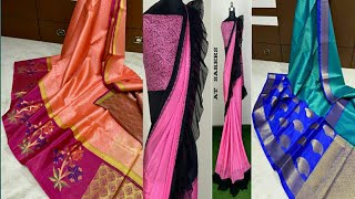 Ruffel sarees,fancy sarees,jute lenin and daily wear sarees collection with prices,reasonble prices