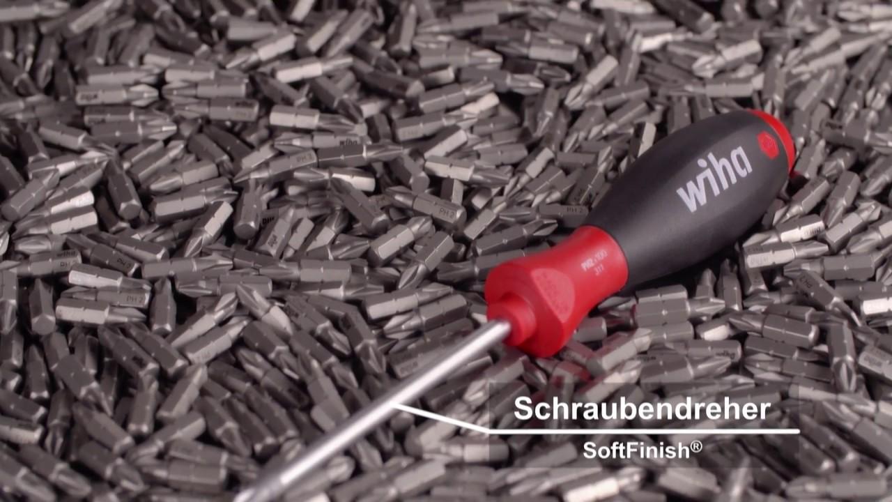 01034 Wiha Schraubendreher Set SoftFinish® Sechskant-Steckschlüssel 5-tlg.