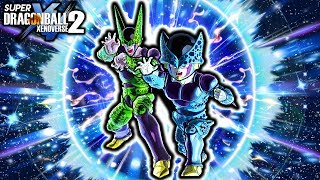 NEW CELL FATHER-SON KAMEHAMEHA DUO SKILL! Dragon Ball Xenoverse 2 Father Son Perfect Kamehameha