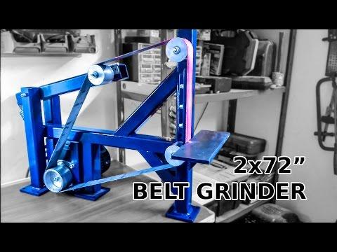"""Awesome DIY 2x72"""" Belt Grinder"""