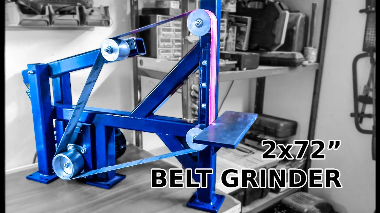 Making belt grinder wheels