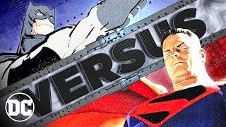 DARK KNIGHT RETURNS BATMAN vs KINGDOM COME SUPERMAN