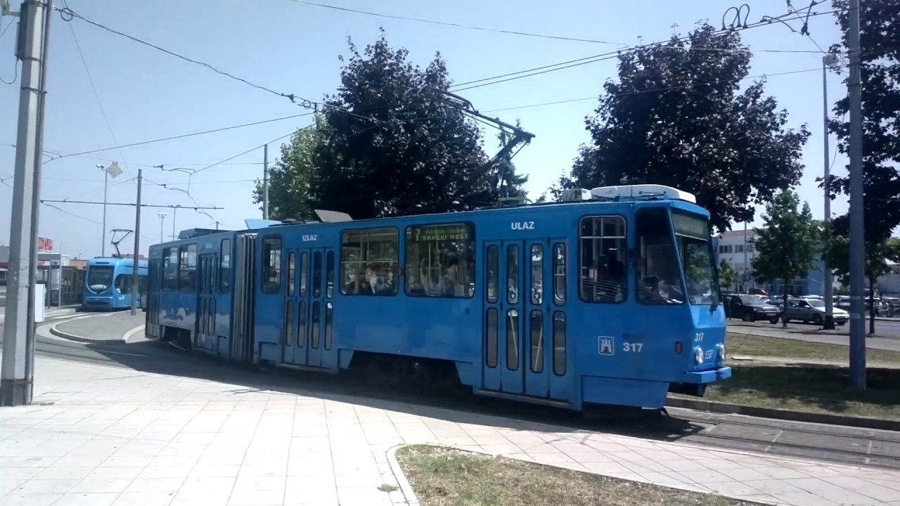 Trv 058 Zet Ckd Kt4 Dubec Zagreb Youtube