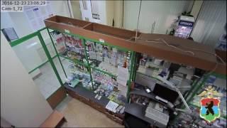 Мужик украл лекарства из аптеки