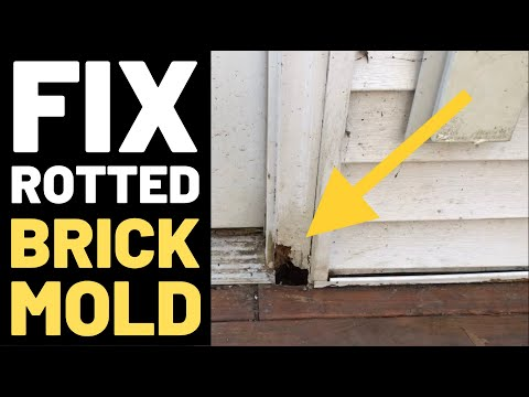Fix Rotted Door Frame (Brickmold)