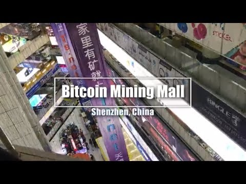 3 - Huge Bitcoin Hardware Mall in China! - Segregated Witness