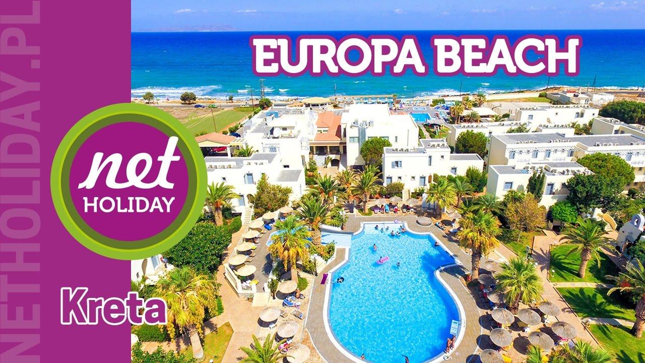 Hotel Europa Beach 4 Grecja Kreta Netholiday Pl