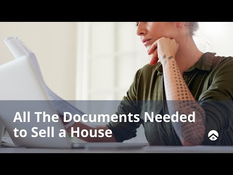 All The Documents Needed To Sell A House