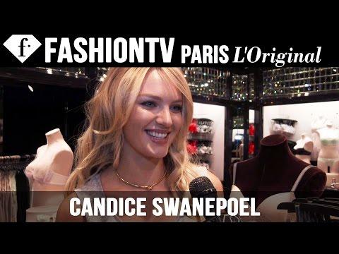 Victoria's Secret Fashion Show 2014-2015: Candice Swanepoel Exclusive Interview | FashionTV