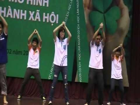 Dân vũ Dzaka - Trung tâm HT&PT Thanh niên Hà Nội - Hanoiadc.org.vn