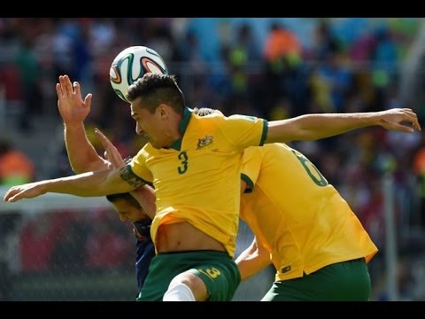 NETHERLANDS 3 AUSTRALIA 2 WORLD CUP 2014 GOAL IN SECONDS! [REVIEW]