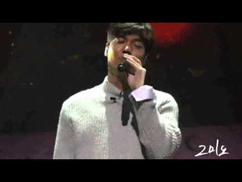 "160116 Lee Min Ho 1st Talk Concert ""선물"""