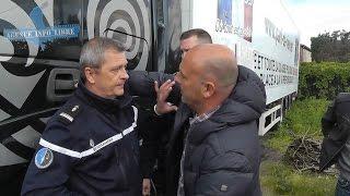 """Thierry Borne : """"je viens récupérer mon camion"""""""