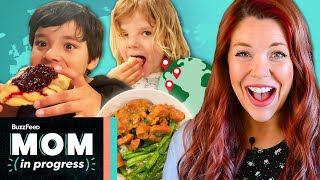 We Ate Meals From Around The World (Part 2) • Mom In Progress