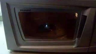 cd microwave disco lights