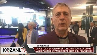 Ο Σ. Κούλογλου ζητά επίσκεψη Ευρωβουλευτών στους δυο Έλληνες στριατιωτικούς