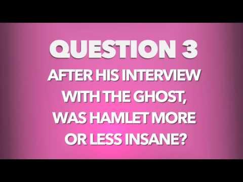 Hamlet Study Questions