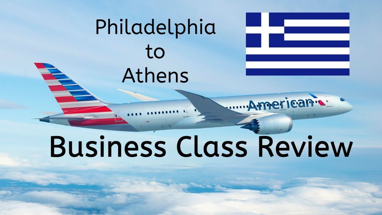 American Airlines Business Class Review A330 Phl To Ath
