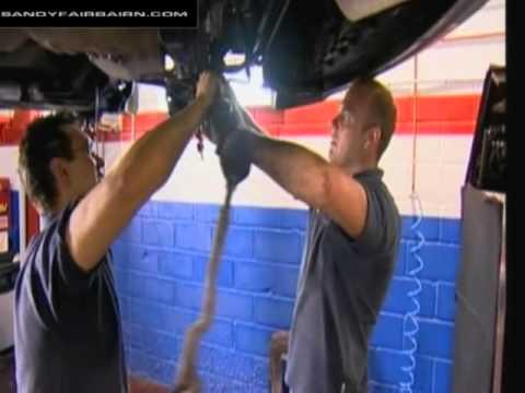 The Garage - Sandy Fairbairn - BMW 320 Steering Rack