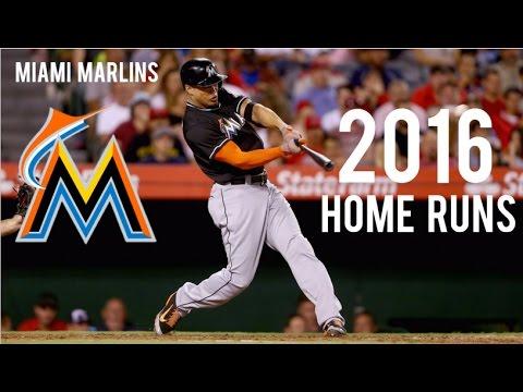 Miami Marlins | 2016 Home Runs (128)