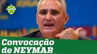 E o SOCO? Tite explica convocação de NEYMAR à Copa América!