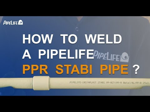 How To Weld A Pipelife PPR Stabi Pipe?
